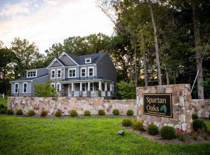 Spartan Oaks Subdivision